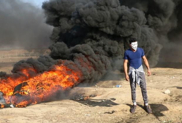 Israël bombarde des hackers palestiniens