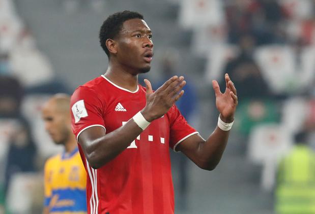 Alaba annonce son départ du Bayern Munich
