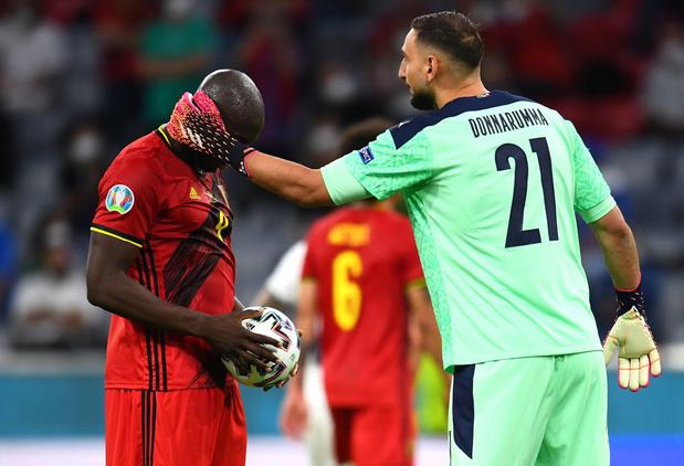EURO 2021: Romelu Lukaku dans l'équipe-type
