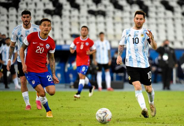 Copa América: L'Argentine bute sur le Chili pour son entrée en matière