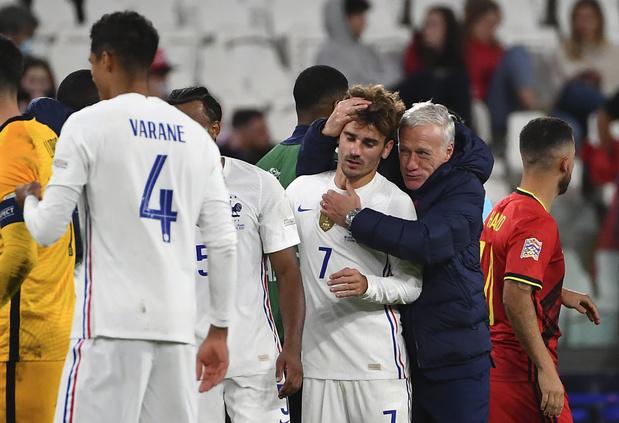 """Deschamps: """"La Belgique a peut-être baissé physiquement mais nous avons aussi rehaussé notre niveau"""""""