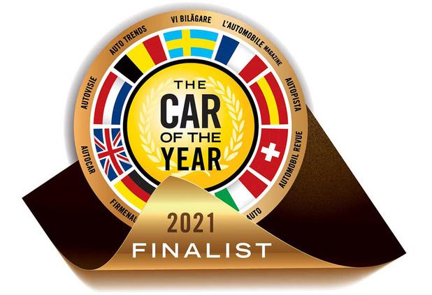 Quelle voiture de l'année en 2021?