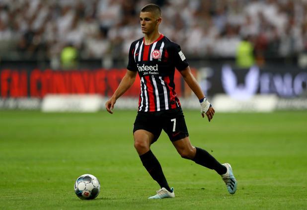 Dejan Joveljic (Eintracht Francfort) prêté à Anderlecht