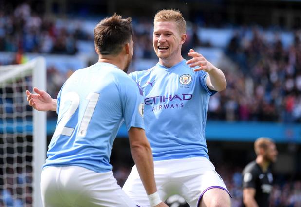 De Bruyne parmi les nommés pour le Joueur du mois en Premier League