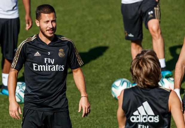 Eden Hazard a repris l'entraînement avec le Real