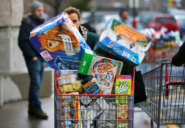 Winkeliers zijn hamstergedrag beu: 'Het is onverantwoord en onnodig'