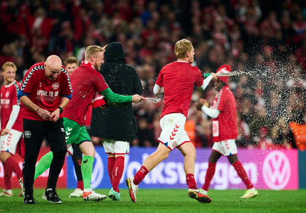 Le Danemark deuxième qualifié européen pour le Mondial, Ronaldo à 115 buts en sélection