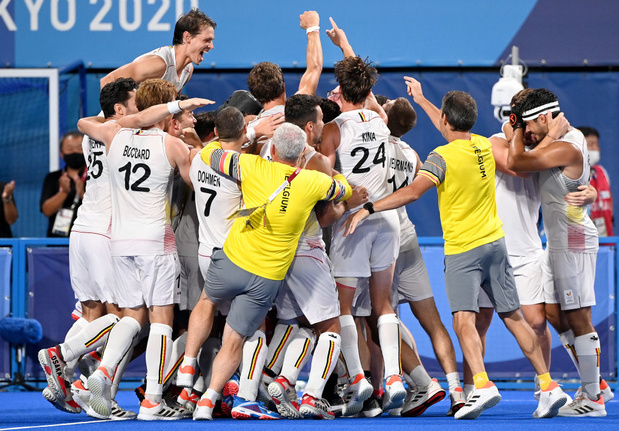 Tokyo 2021: Les Red Lions champions olympiques aux shoot-outs