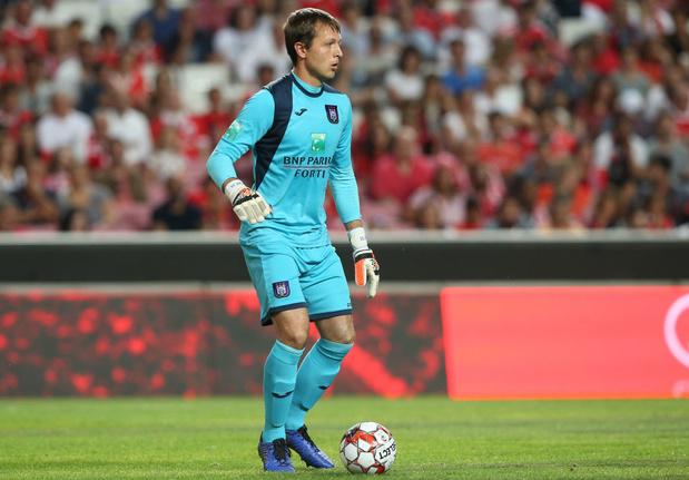 Davy Roef quitte Anderlecht pour La Gantoise