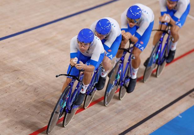 Tokyo 2021 : titre olympique et nouveau record du monde pour les Italiens en poursuite par équipes