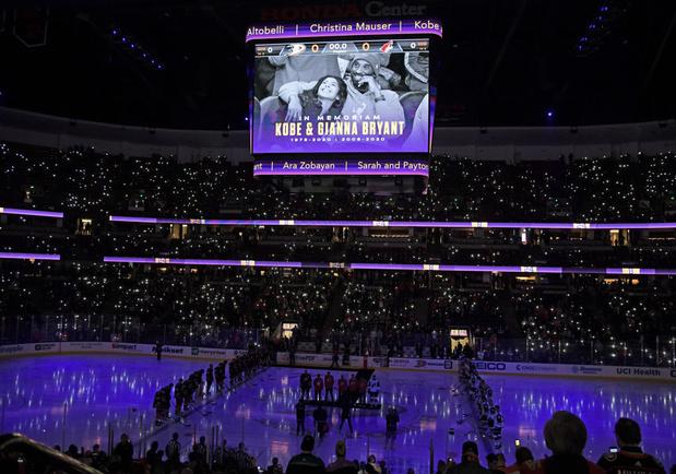NBA: l'émotion Bryant continue d'inonder les parquets de larmes