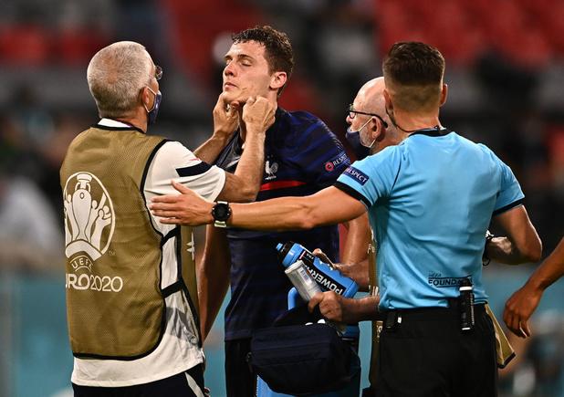 EURO2021: Benjamin Pavard est resté inconscient pendant 10 à 15 secondes