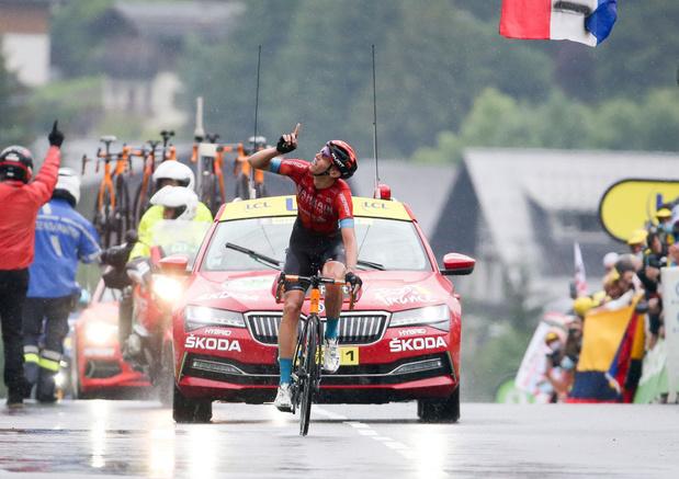 Tour de France: les Belges auront animé la première semaine