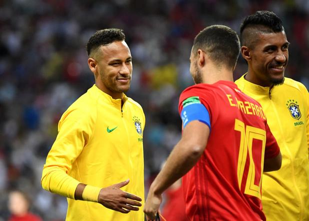 Neymar voit la Belgique parmi les favoris pour la Coupe du monde 2022