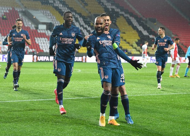 Europa League: Arsenal ne laisse aucune chance au Slavia Prague, l'AS Rome se qualifie de justesse