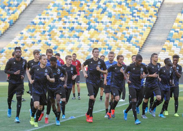 A Kiev, Bruges joue sa qualif pour les barrages de Champion's League
