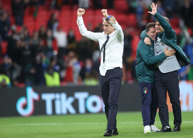 EURO 2021: Mancini déjà concentré sur la finale, Busquets fier de son équipe