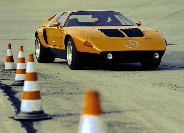 La Mercedes C111 à Techno Classica