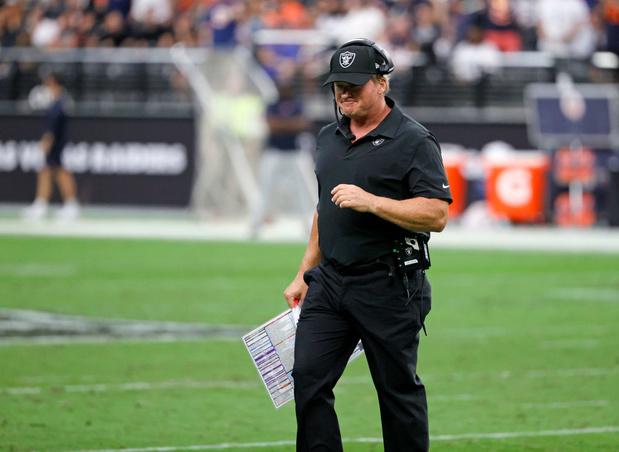 NFL: Démission de l'entraîneur des Raiders, accusé de racisme, misogynie et homophobie