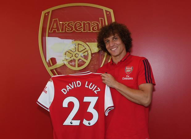 David Luiz (Chelsea) à Arsenal