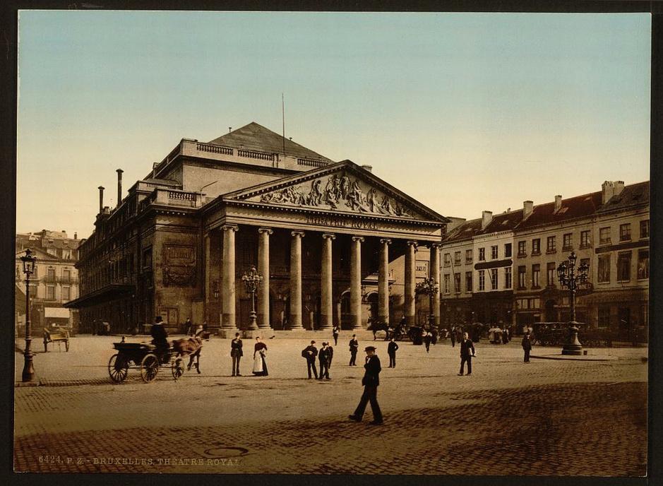 En images: Voici à quoi ressemblait Bruxelles en 1890