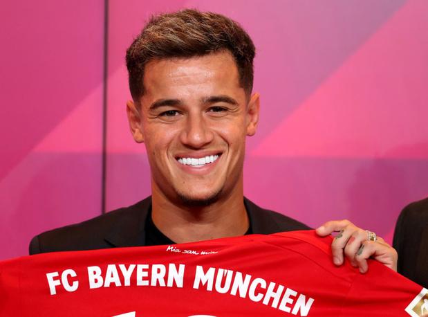 Officiel: Coutinho rejoint le Bayern Munich
