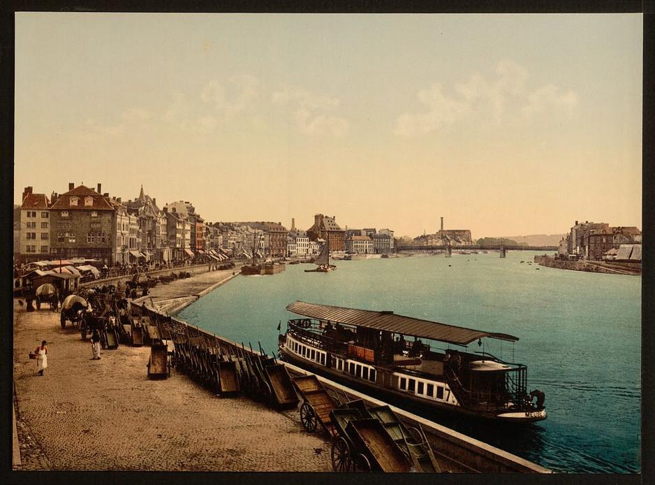 En images: découvrez à quoi ressemblaient Liège, Namur, Spa, Dinant ou Waterloo en 1890