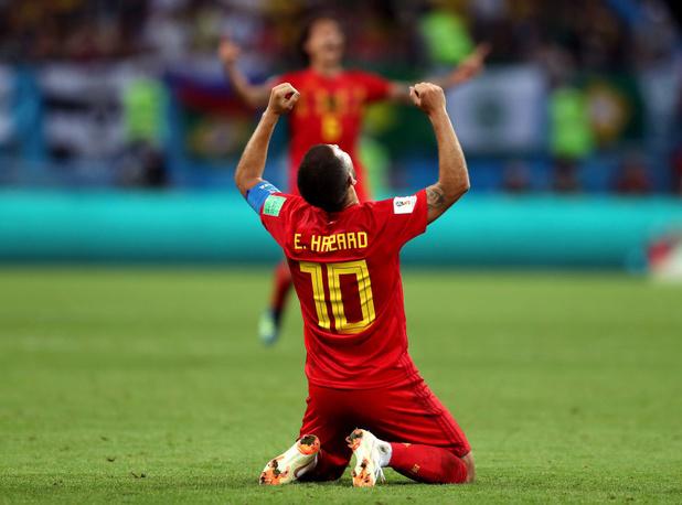 Eden Hazard désigné figure la plus emblématique de l'histoire du football belge