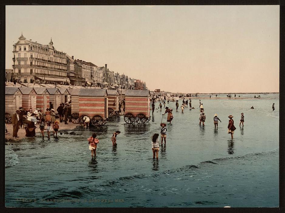 En images: Découvrez à quoi ressemblait la Côte belge en 1890