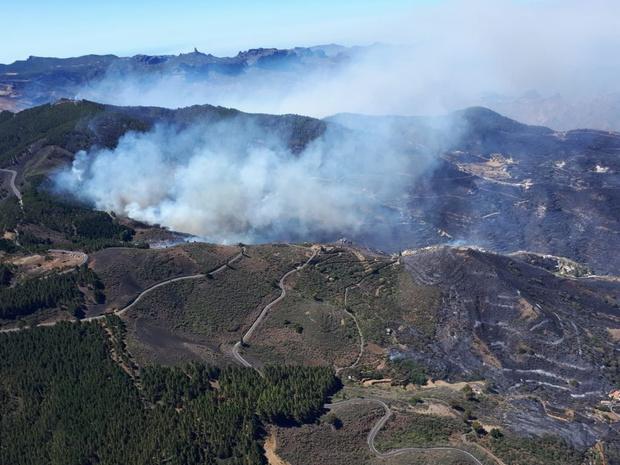 Espagne: le responsable présumé de l'incendie sur l'île de Grande Canarie a été écroué