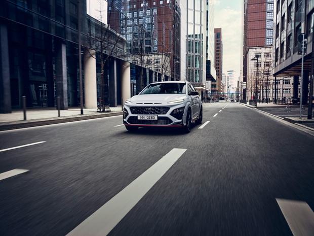 Hyundai Kona N, le rallye version chic et urbain