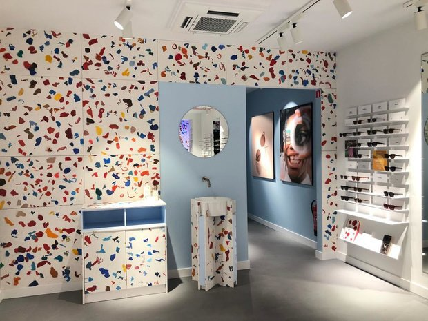 Chic Plastic: brillenmerk Ace & Tate richt winkel in met gerecycleerd afval