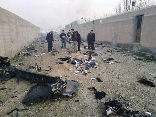 Crash aérien à Téhéran: aucune chance de retrouver les passagers en vie