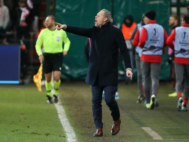 Clap de fin entre Michel Preud'homme et le Standard