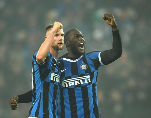Lukaku plante un nouveau doublé et délivre l'Inter