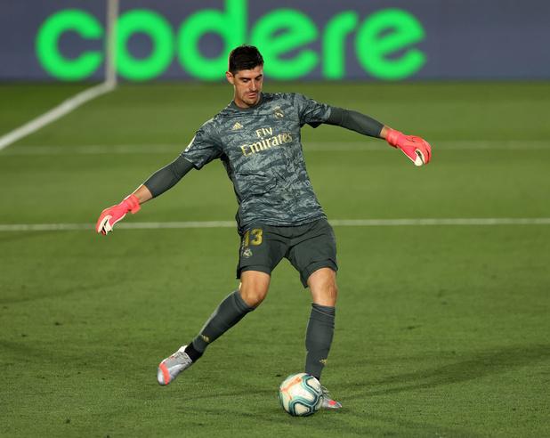 Le Real Madrid de Thibaut Courtois bat Getafe et augmente son avance sur le Barça
