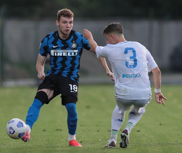 Mercato: Tibo Persyn troque les rayures bleues et noires de l'Inter pour celles du FC Bruges
