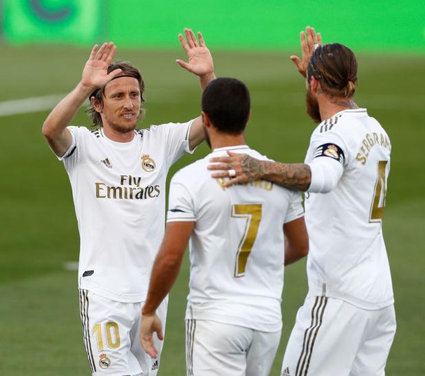 """Modric: """"Eden Hazard jouait avec des douleurs"""""""
