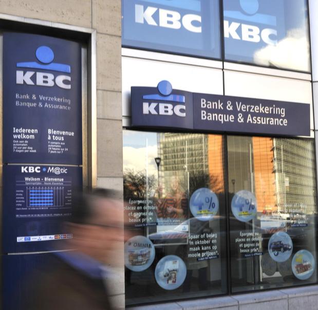 Les inondations coûtent 41 millions d'euros à KBC
