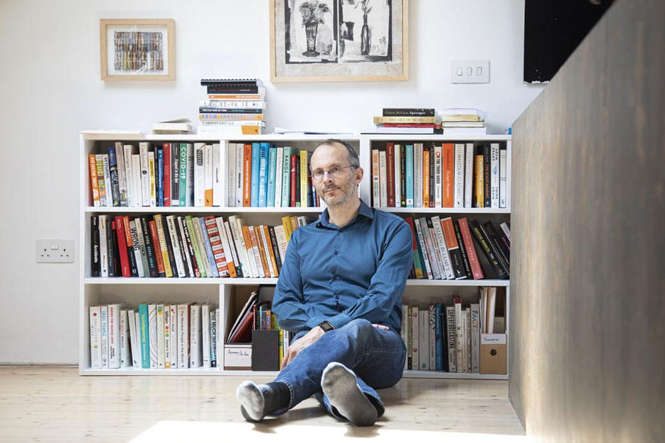 Econoom Tim Harford weet wat data vertellen: 'Ik ben een nerd en ik ben daar trots op'