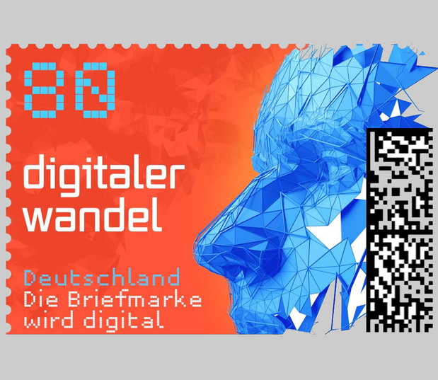 La poste allemande lance son premier timbre traçable