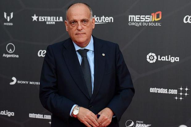 Javier Tebas vier jaar langer voorzitter van Spaanse profliga