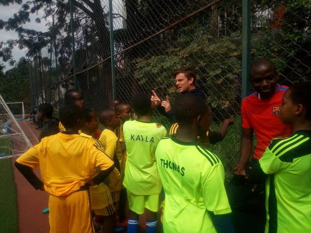 Belg leidt in Kenia talent op voor FC Barcelona