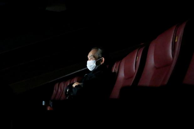 Mondmaskerplicht houdt bezoekers uit de bioscoop