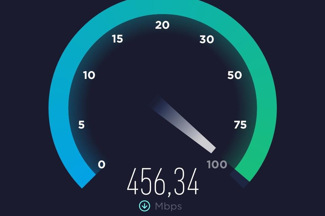 Met de Ookla Speedtest app kan je eenvoudig de netwerksnelheid testen., KVdS/DN