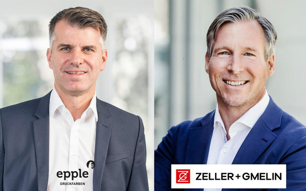 Epple en Zeller + Gmelin ontwikkelen samen offsetinkten