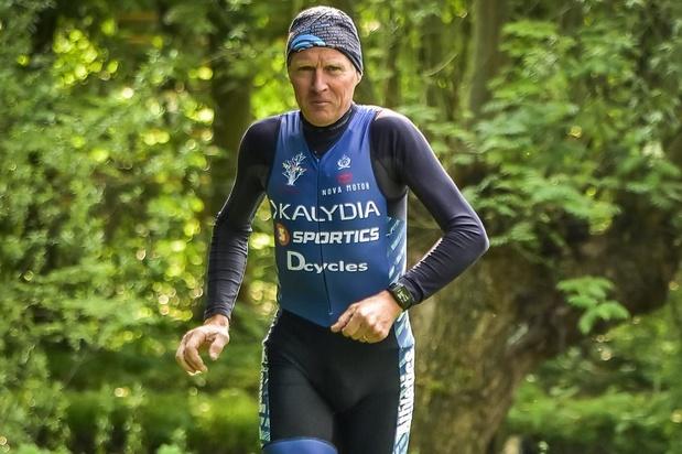 Filip Vermont voor de 24ste keer aan de start van duatlon in Geluwe