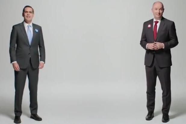 Gouverneurskandidaten Amerikaanse staat Utah slaan handen ineen (video)