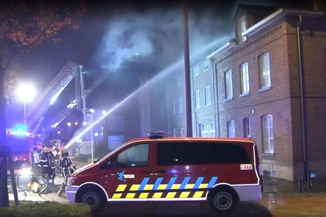 Brand in toekomstig asielcentrum in Bilzen zo goed als zeker aangestoken