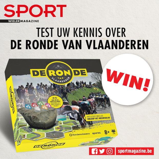 Test uw kennis over de Ronde van Vlaanderen